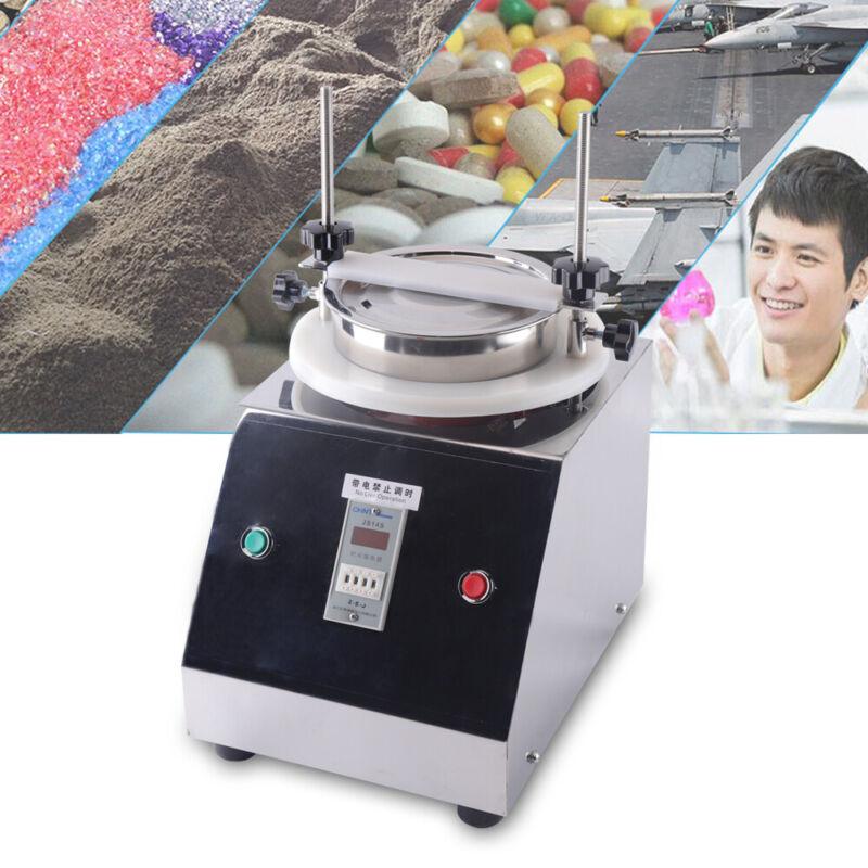 US Lab Sifter Sample Vibrating Screen Sieve Machine Granule Powder Shaker Ø200mm