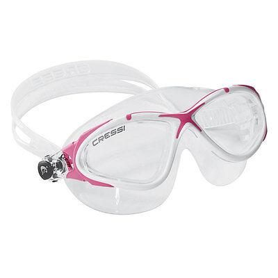 9c8fb710857 Cressi Swim Planet Mask Soft Silicone Swimming Goggles Pink