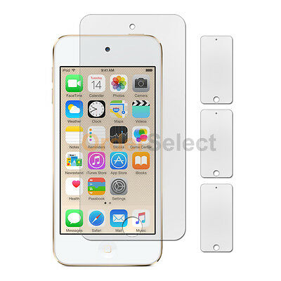 3X Anti-Scratch Clear LCD Screen Shield Protector for Apple iPod Touch 6 6th Gen