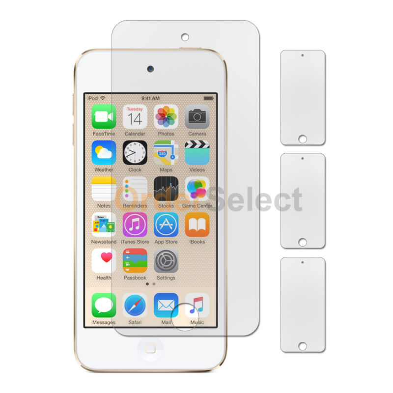 3X NEW Clear LCD Screen Shield Protector for Apple iPod Touch 6 6th Gen 500+SOLD