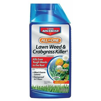 Bayer Advanced 704140 All-In-One Lawn Weed And Crabgrass Killer Concentrate, (Bayer Advanced Lawn Weed And Crabgrass Killer)