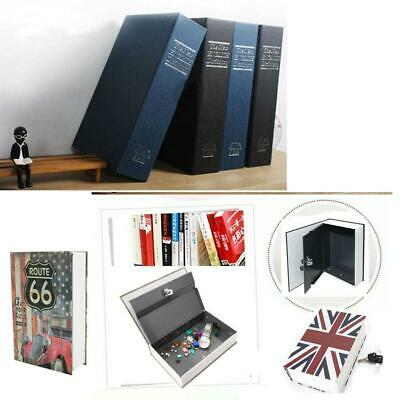 Lms Dictionary Book Secret Hidden Cash Security Lock Safe Box Home Office
