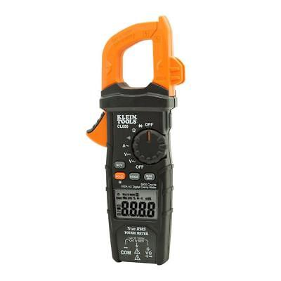 Klein Tools 600a Ac Auto-ranging Digital Clamp Meter Cl600