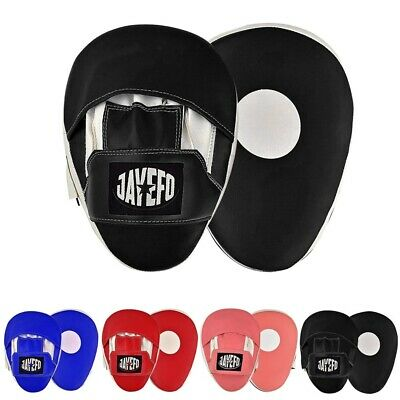 Jayefo Focus Mitts Training Punch MMA Boxing Strike Curved pad Kick Muay - Punching Mitts