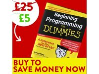 Programming for Dummies - FREE DELIVERY - Programming Book - Save £15 WHEN YOU BUY TODAY