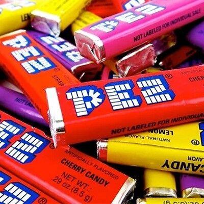 Pez Candy Refills   Assorted Fruit Flavors   2 Lb Bulk New