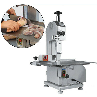 Electric Commercial Butcher Frozen Meat Bone Cutting Band Saw Machine 4-180mm Us
