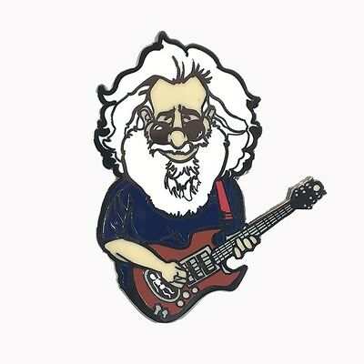 Jerry Garcia, lapel pin, Grateful Dead, Band member, Pin set, hat Pins,