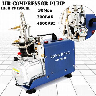 300bar 4500psi High Pressure Air Compressor Pcp Airgun Scuba Air Pump Yong Heng
