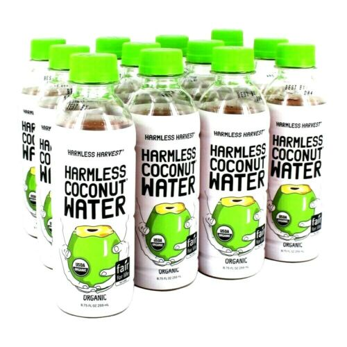 Harmless Harvest Organic Coconut Water 8.75 oz ( Pack of 12 )