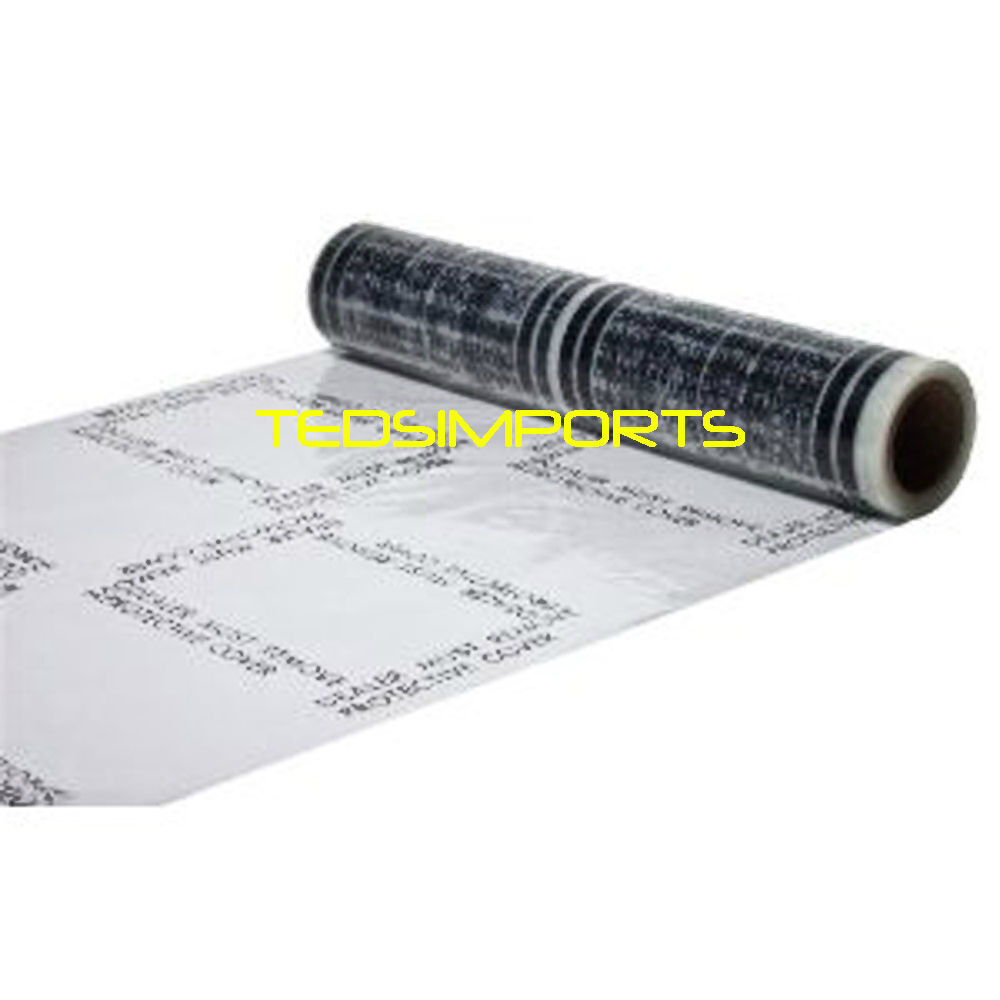 Auto Carpet Adhesive Protective Film 300 New 4 Mil Thick
