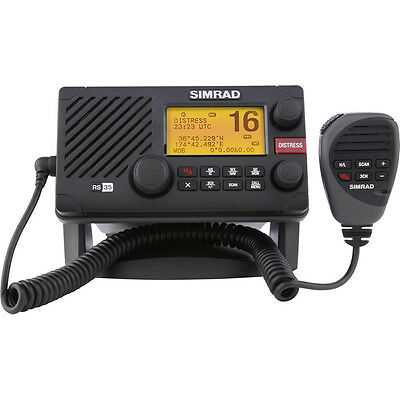 Simrad RS35 VHF Radio w/AIS + NMEA 2000 Connectivity