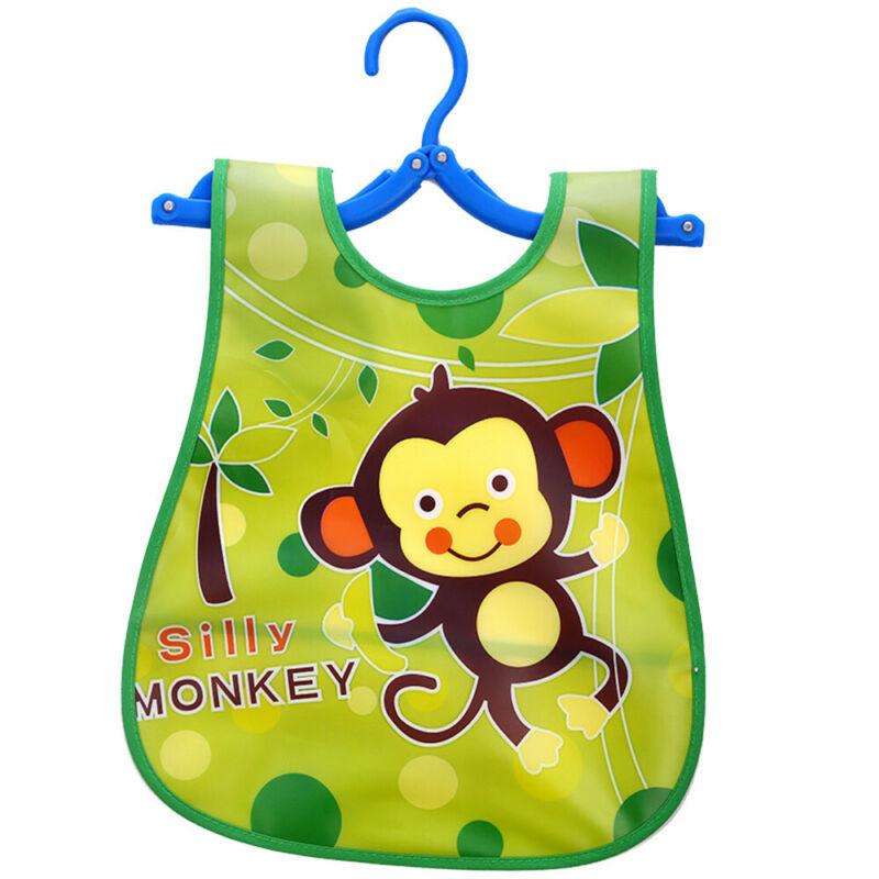 Newborn Cute Kids Bibs Baby Soft Cartoon Bib Toddler Waterproof Saliva Dripping M