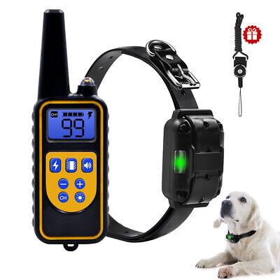 Anti-bark Rechargeable Electric Dog Training Collar Shock E-Collar