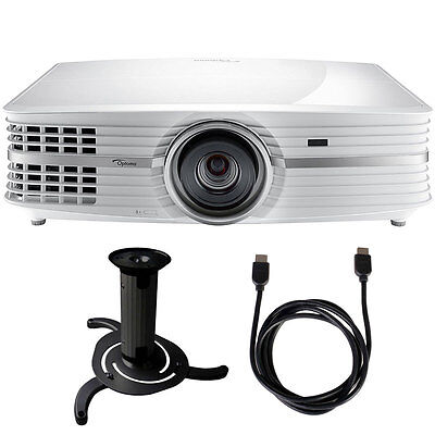 Optoma UHD60 4K Ultra High Definition Home Theater Projector Bundle