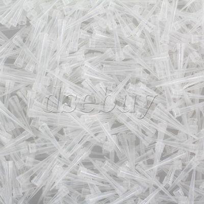 1000pcs 10ul Ultra Micro White Pipette Tips For Micropipette Pipetter Laboratory