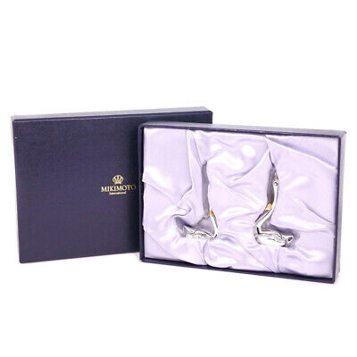 MIKIMOTO swan Picture Frames Other miscellaneous goods Silver/gold unisex