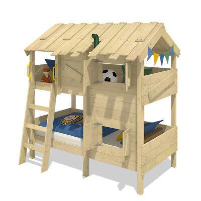 WICKEY CrAzY Cherry Spielbett 90x200 cm Einzelbett Kinderbett Bett Abenteuerbett