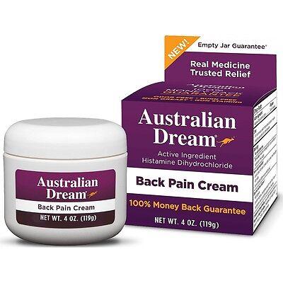 Australian Dream Back Pain Cream 4 Oz