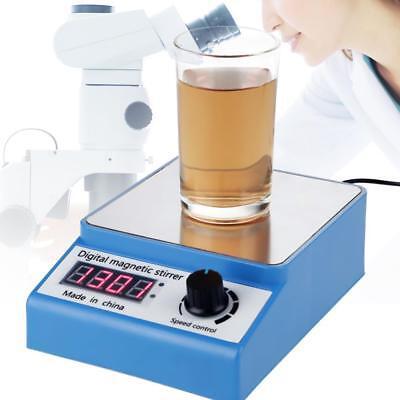 100-240v 3000rpm Adjustable Digital Thermostatic Magnetic Mixer Lab Stirrer Gs
