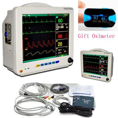 12.1 Inch Medical Icu Ccu 6 Parameters Vital Sign Patient Monitor Nibp Oximeter