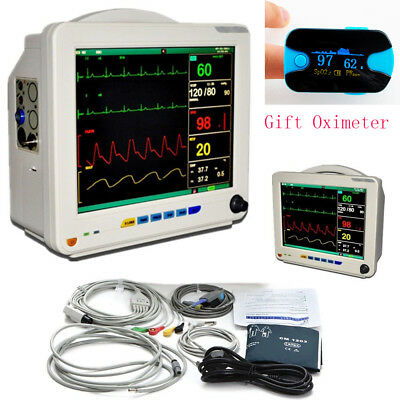 12.1 Inch Medical Icu Ccu 6 Parameters Vital Sign Patient Monitor Nibp Spo2 Gift