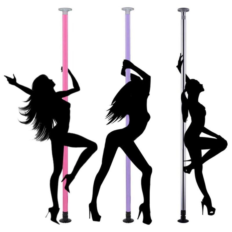 Portable Dance Pole Kit Exercise Studio Home DJ Club Party Dancing Gym Fitness