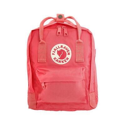 Fjallraven Kanken Mini Kids Small Pink Vinylon Fabric Backpack 23561319