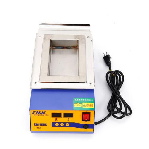 110V 900W Solder Pot Soldering Desoldering Bath Titanium Plate Max 400°C CM-150S