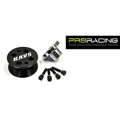 KAV Motorsport R53 BMW MINI Supercharger Pulley 17% Reduced Size Pulley
