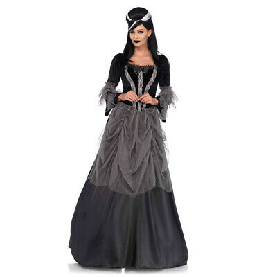 Halloween Gown Costumes (Womens Gothic Victorian Ball Gown Halloween)