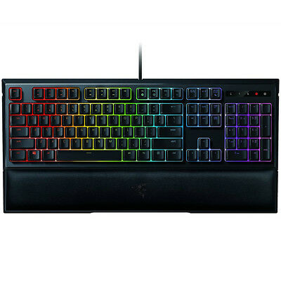Razer Ornata Chroma Mecha-Membrane RGB Gaming Keyboard with Wrist Rest