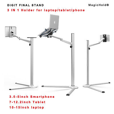 """Height adjusting 360º rotate stand for laptop/any ipad/tablet(7-13"""")/ipad Pro"""