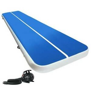 Gymnastic Tumbling Mat 6m x 2m 20cm Thick Electric Pump Ideal Kings Beach Caloundra Area Preview