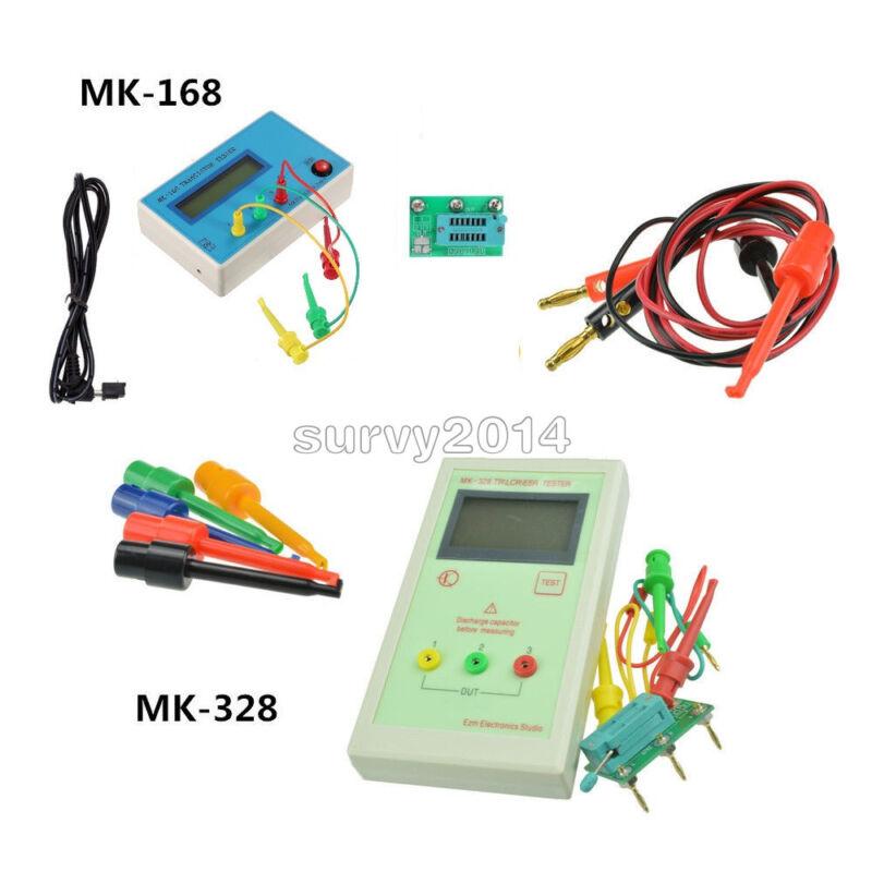 MK-328/MK-168 LCD TR Transistor Tester Diode LCR ESR Meter Test Hook Clips Probe