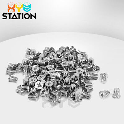 "100x Hard Drive Caddy Screws For 2.5/"" Hard Drive Caddy Dell HP IBM Laptop Black"