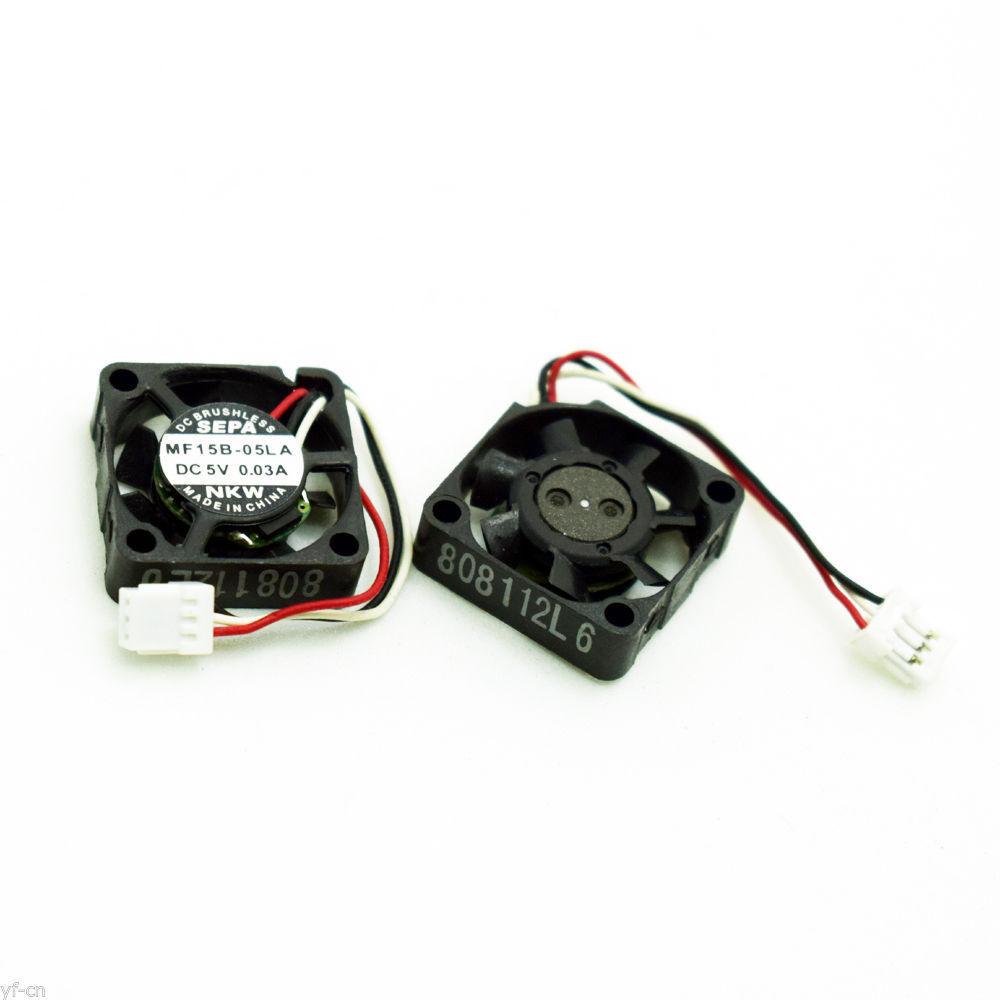 mini micro fan new MF15B-05LA 5V 0.03A 1.5cm 15mm 1505 15x15x5mm server cooling fan