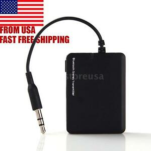 Bluetooth Transmitter 3.5mm A2DP Stereo Audio Dongle Adapter for PC TV iPod MP4