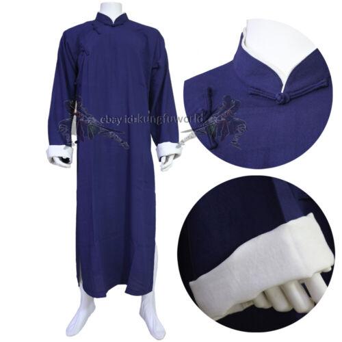 Custom IP MAN Shaolin Kung fu Robe Wing Chun Tai Chi Suit Martial arts Uniform