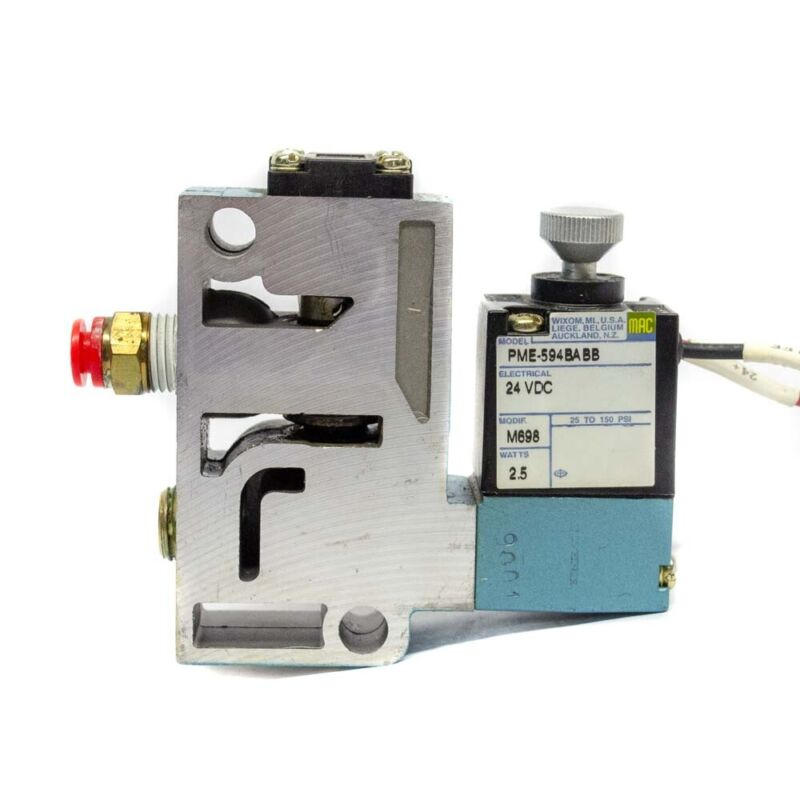 MAC 914B-PM-594BABB 24 Volt Solenoid Valve 2.5 Watts PME-594BABB