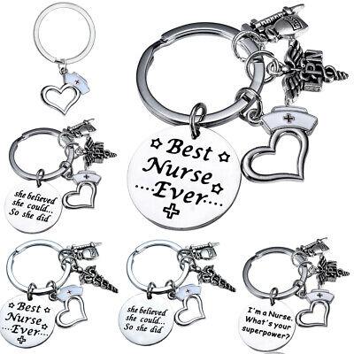 Nursing Graduation Gifts (Nurse Keychain Gifts For Women Nursing Key Chain Nurses Gifts Graduation)