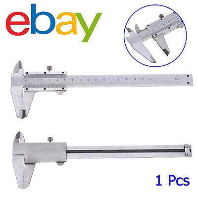 6 0-150mm Stainless Steel Vernier Caliper Gauge Micrometer Measuring Tool Pbx