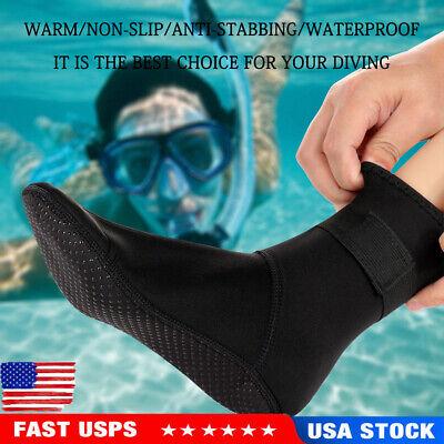 Adult 3mm Neoprene Snorkeling Shoes Scuba Diving Socks Beach Boots Wet suit