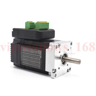 0.45nm 140w Nema23 Integrated Servo Motor Driver 3ph 3000rpm Dc2050v Brushless