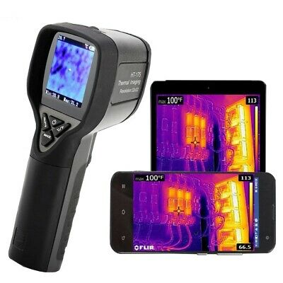 Ht175 Infrared Thermal Imaging Camera Handheld Ir Thermometer Imager -20 300