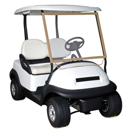 Classic Accessories Portable Deluxe Golf Cart Windshield Universal Fit
