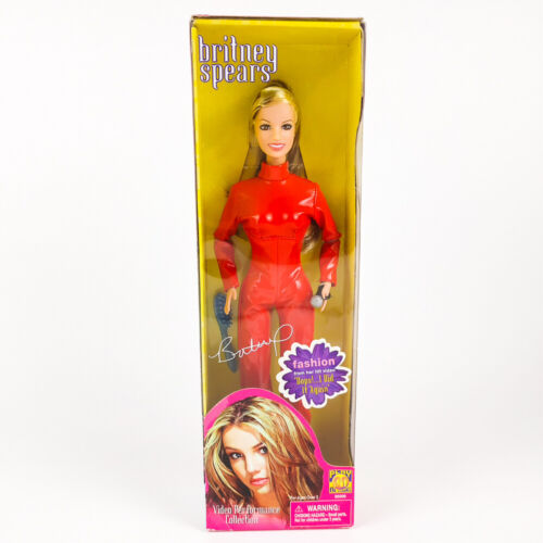 Britney Spears Doll Video Performance Collection Oops I Did It Again Red Outfit