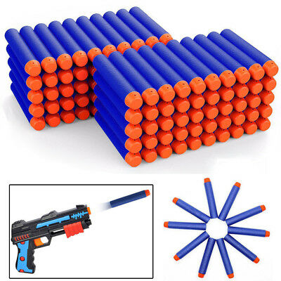 400pcs 7.2cm/3in Soft Refill Bullet Darts for Nerf N-strike Elite Series Toy Gun