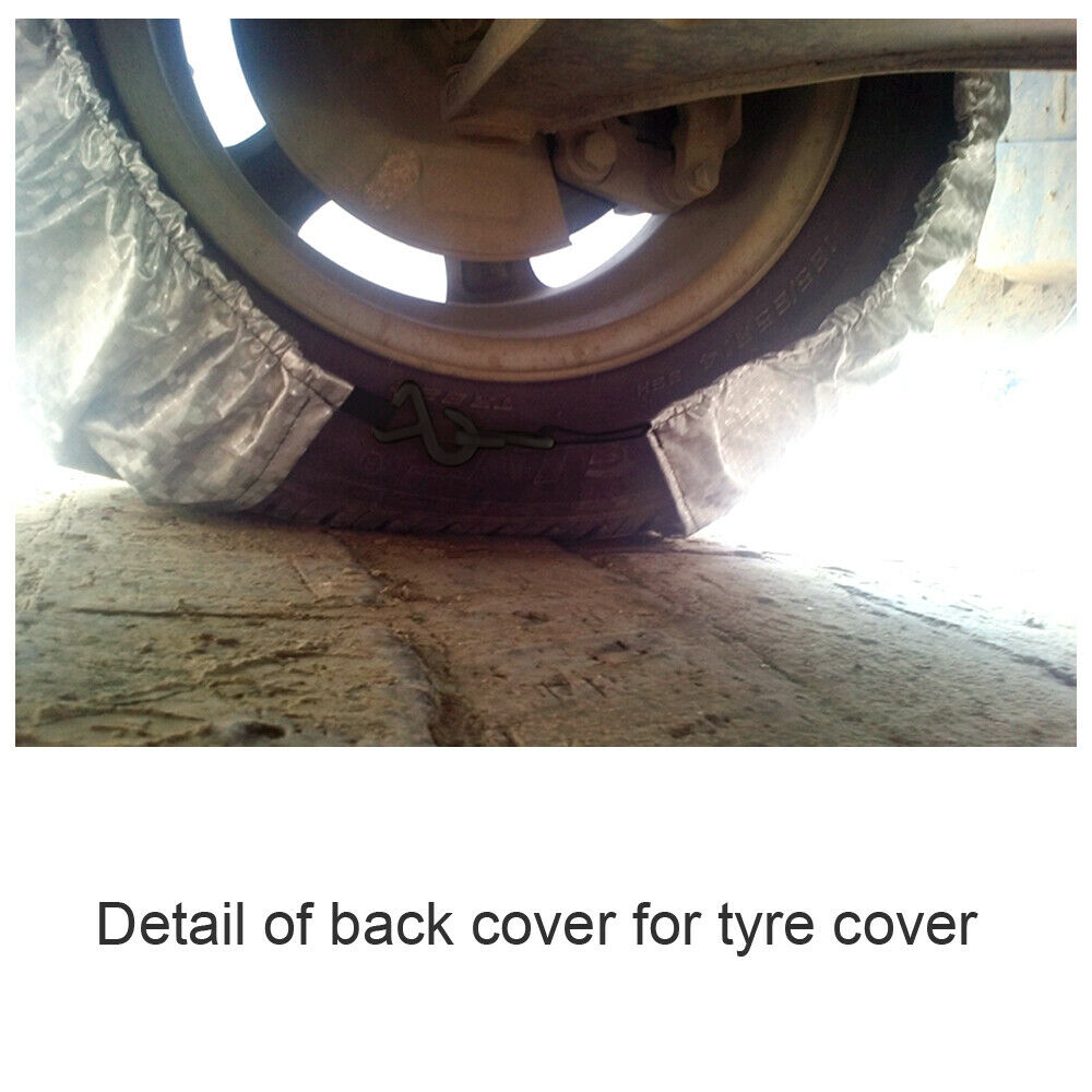 """::25- 27"""" Waterproof Wheel Tire Covers Sun Protector for Truck Car RV Trailer SUV"""