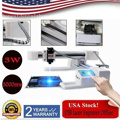 3000mw Diy Laser Engraving Machine 3w Offline Desktop Wood Engraver Usb